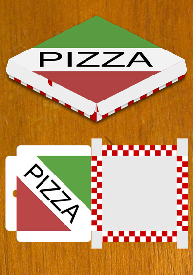 Free Sample Pizza Box Design Template