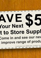 Shop Coupon