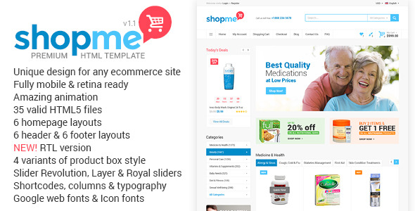 12 Ecommerce Website Templates to Download