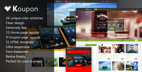 15 Responsive Themes with JQuery Image Sliders to Download